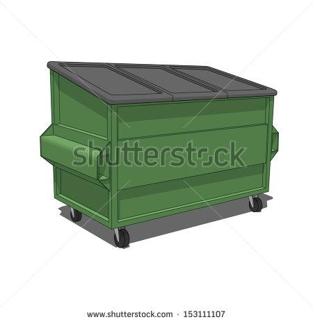 stock-vector-green-dumpster-153111107